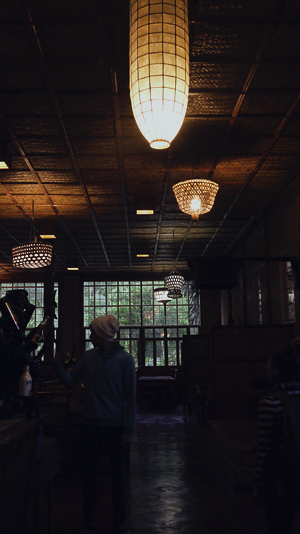 Restaurant lights