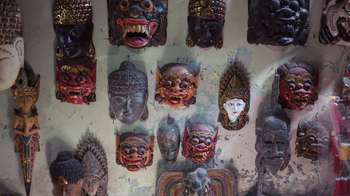Mask carvings