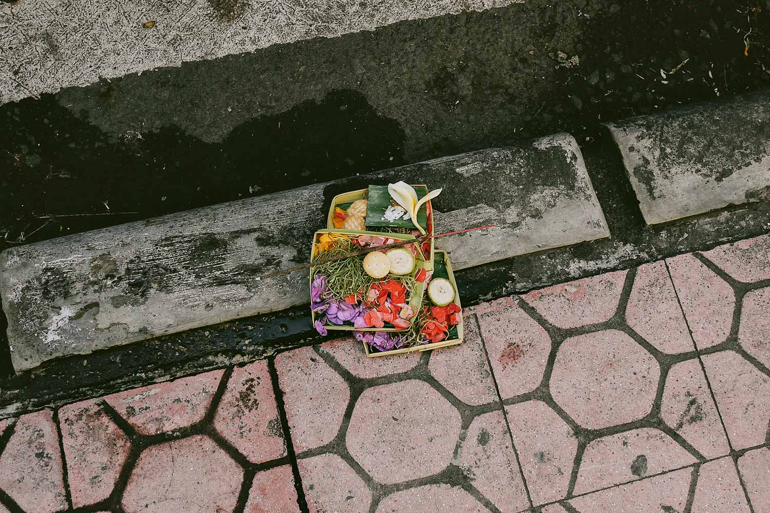Offerings on the floor